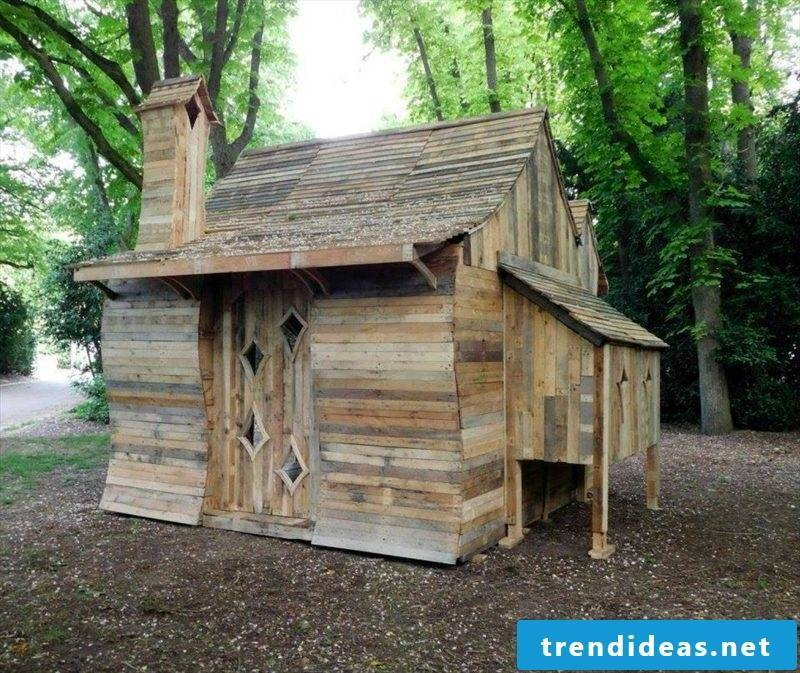 wooden bungalow diy wooden pallet funny