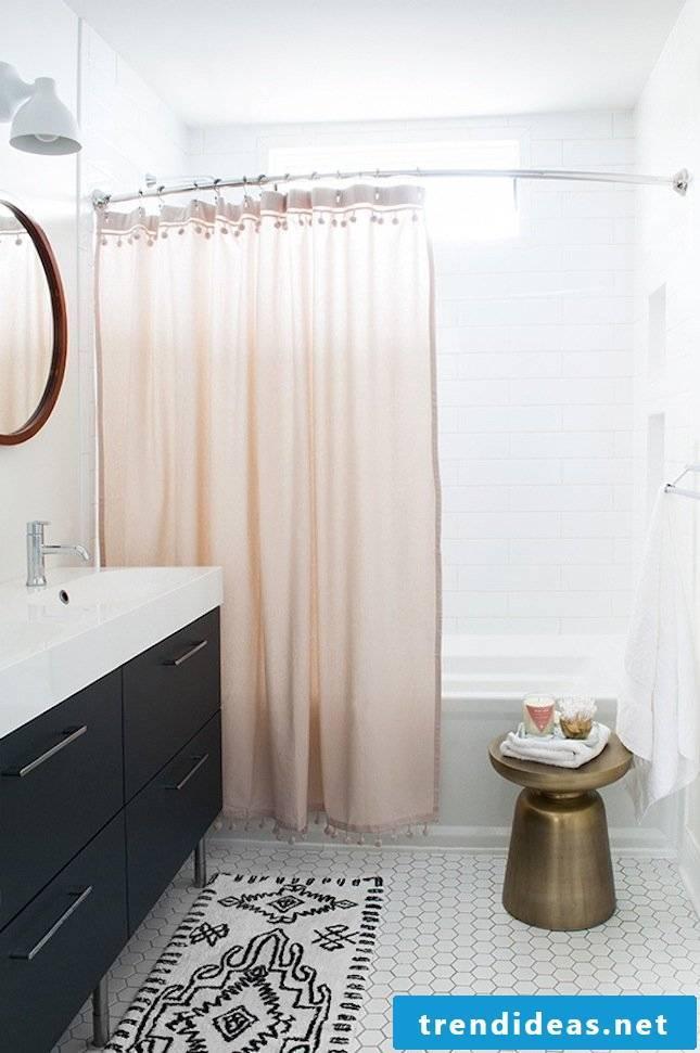 pink black bathroom decoration decorating modern bathroom ideas