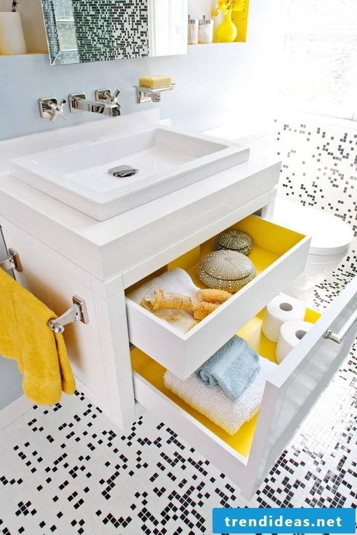 modern bathroom ideas shelf white drawers wood bathroom set up badaccessoires