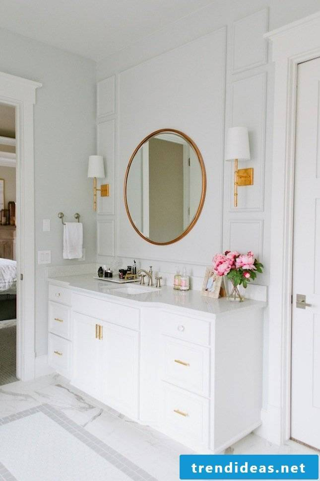 home accessories copper accents bathroom ideas white modern bathrooms ideas