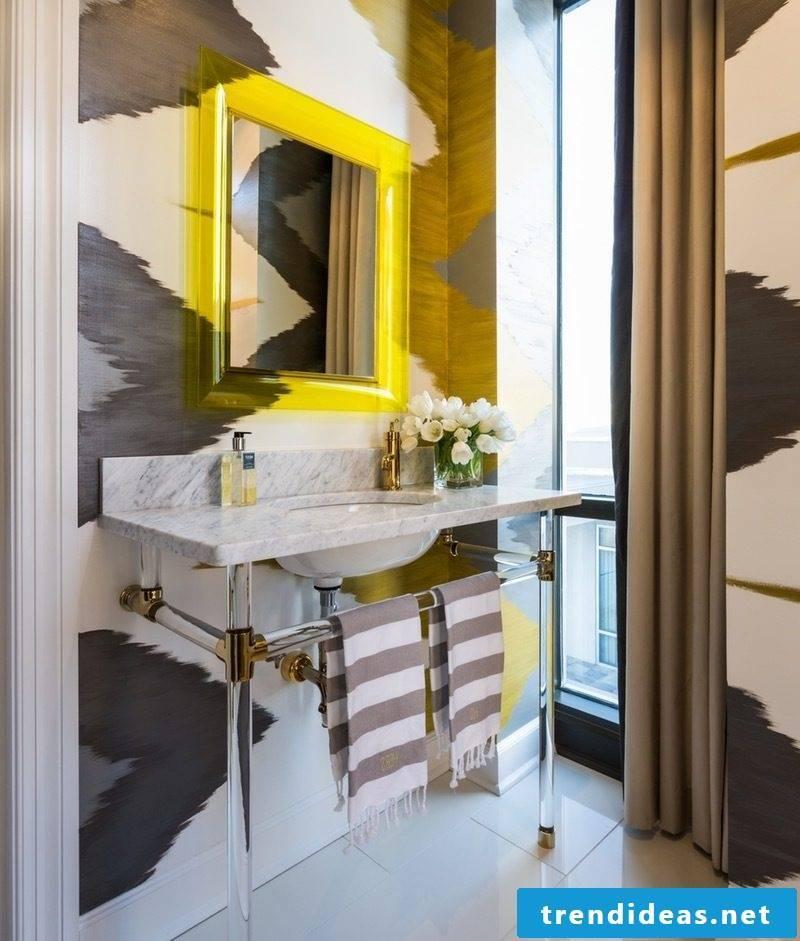 modern bathroom ideas mirror curtain beautiful bathroom ideas