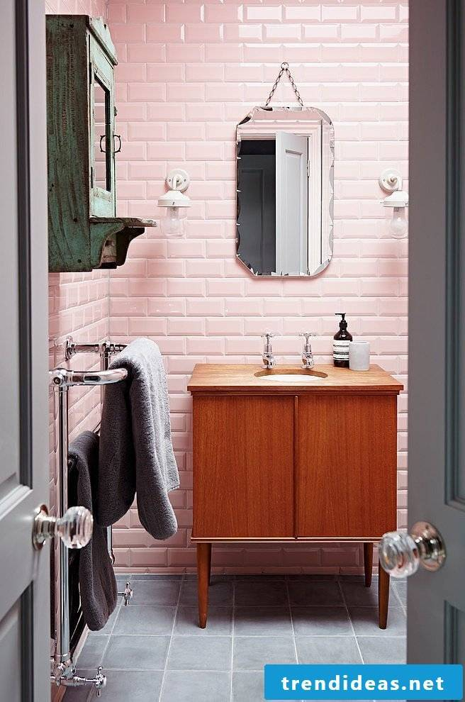 indusrial style bathroom ideas mirror vanity