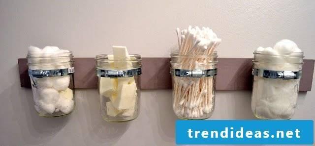 DIY storage bathroom ideas