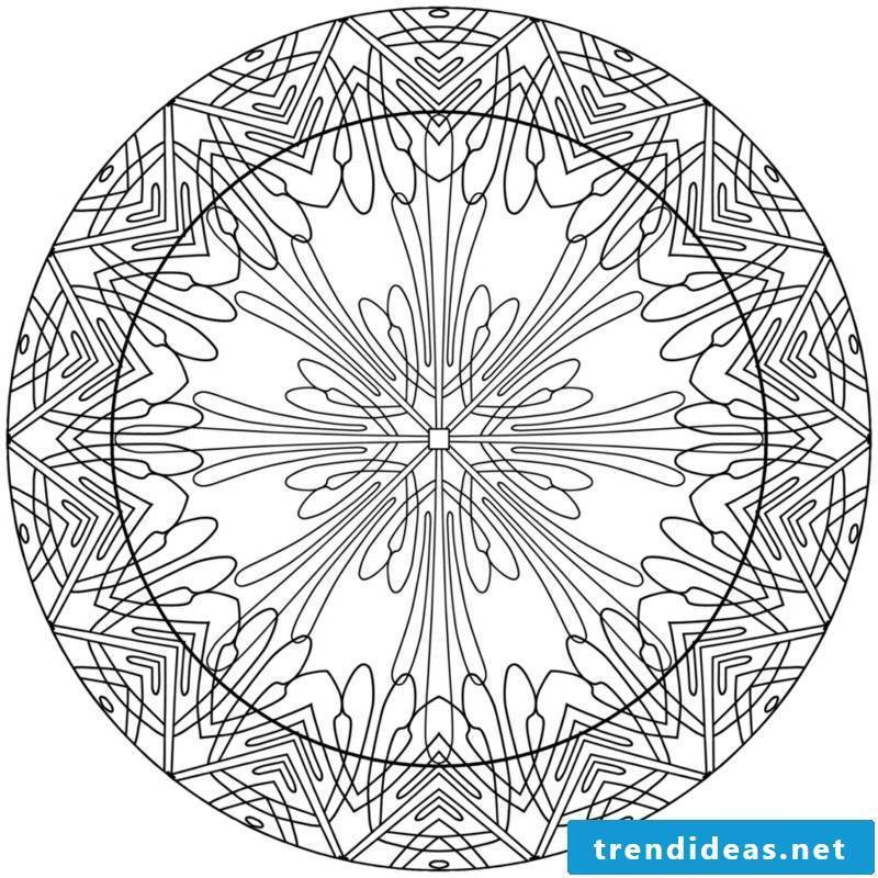 Mandala templates intuitive