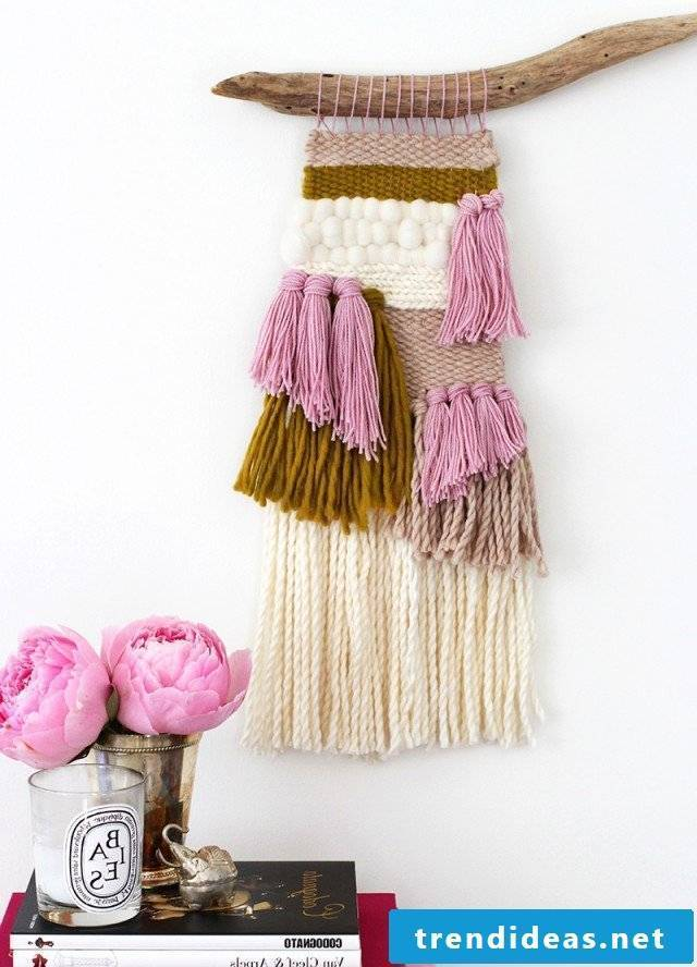 tapestry wall design living room ideas