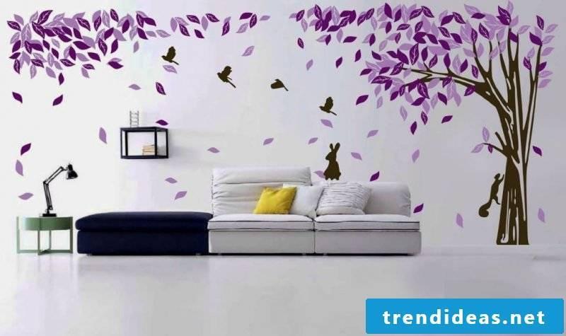 walls design ideas wall decal tree