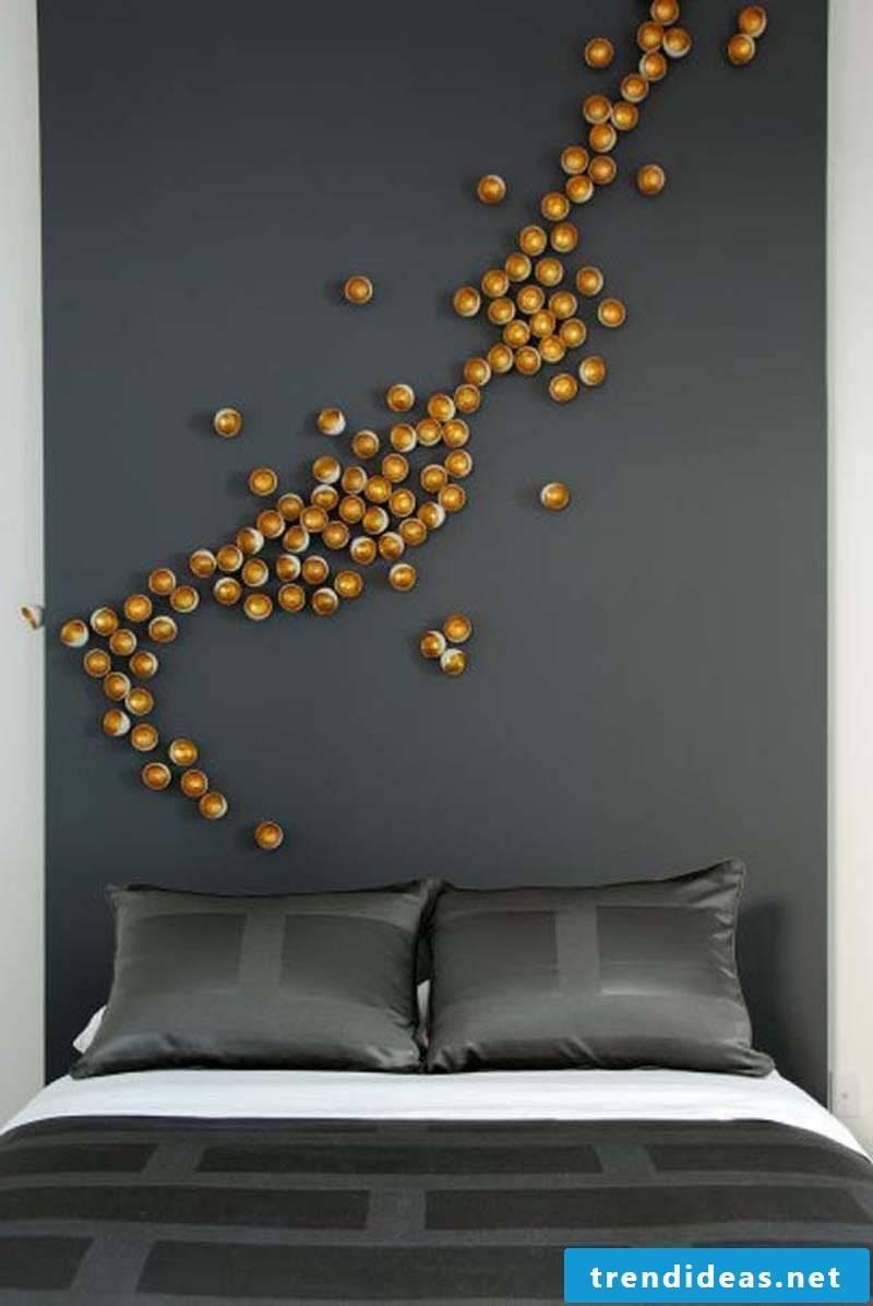 wall design ideas bedroom colors