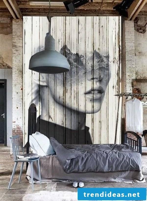 wall design ideas bedroom