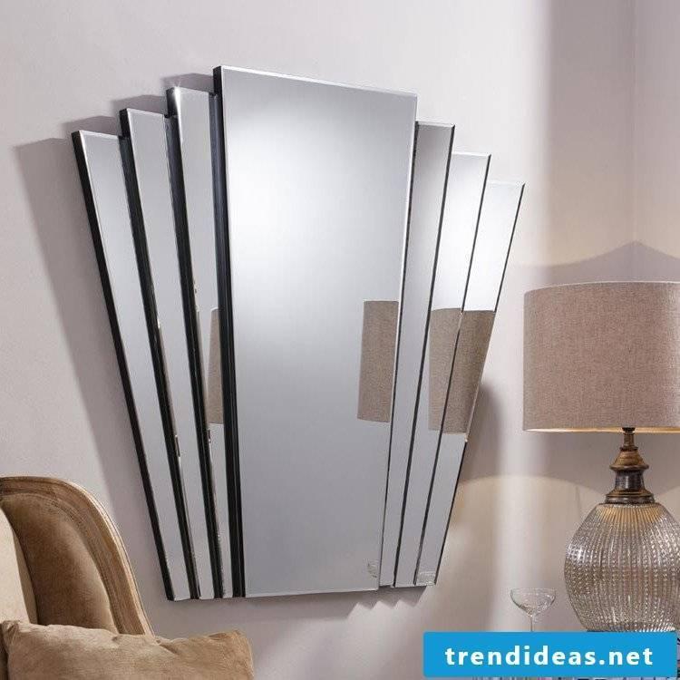wall design ideas mirror