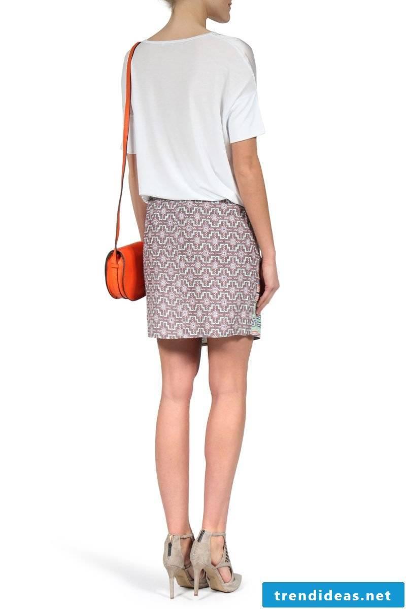 short wrap skirt
