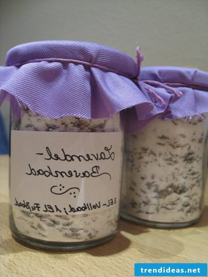 Bath salt itself make lavender