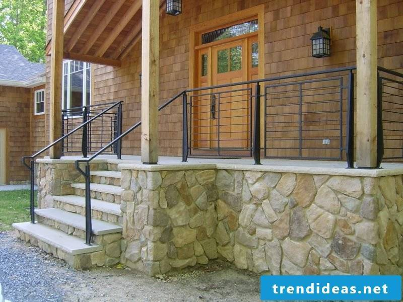 Build stair rails yourself - handrail