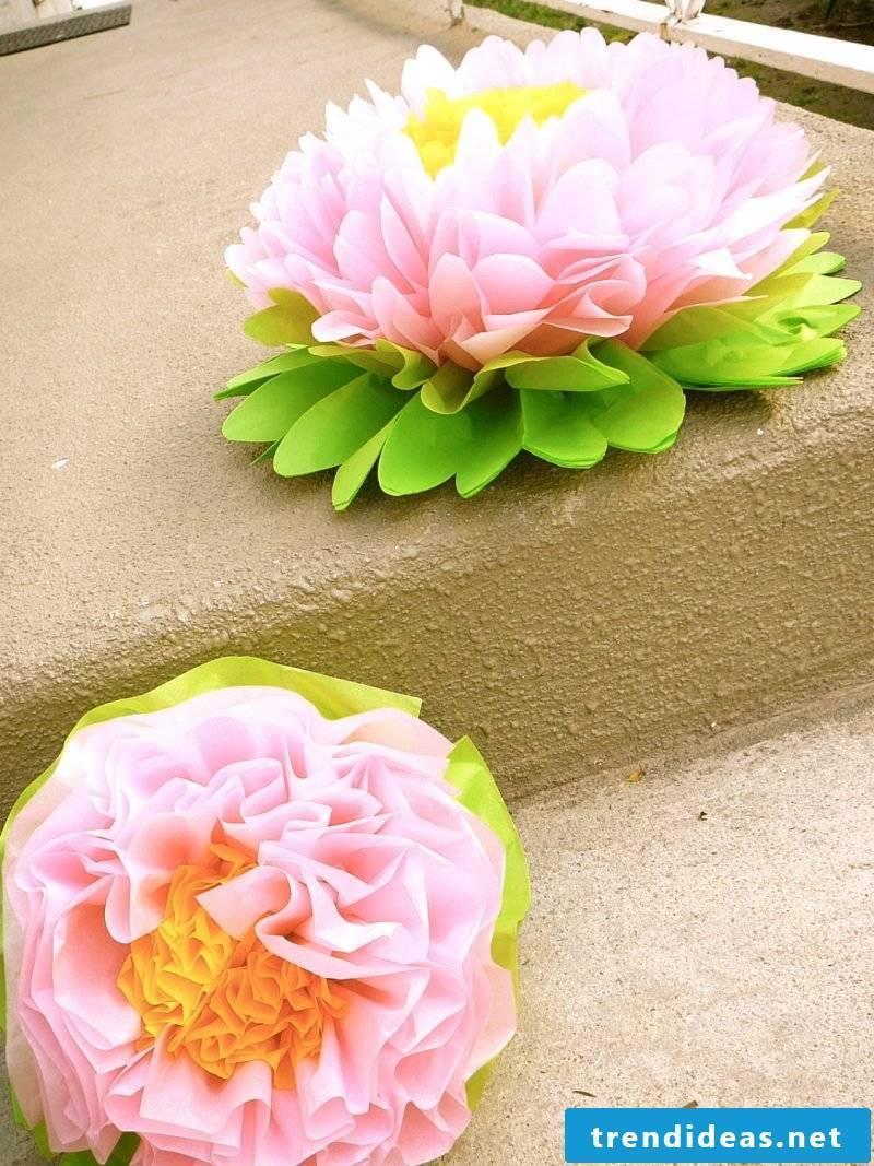 napkin wrinkle seerose paper Idea