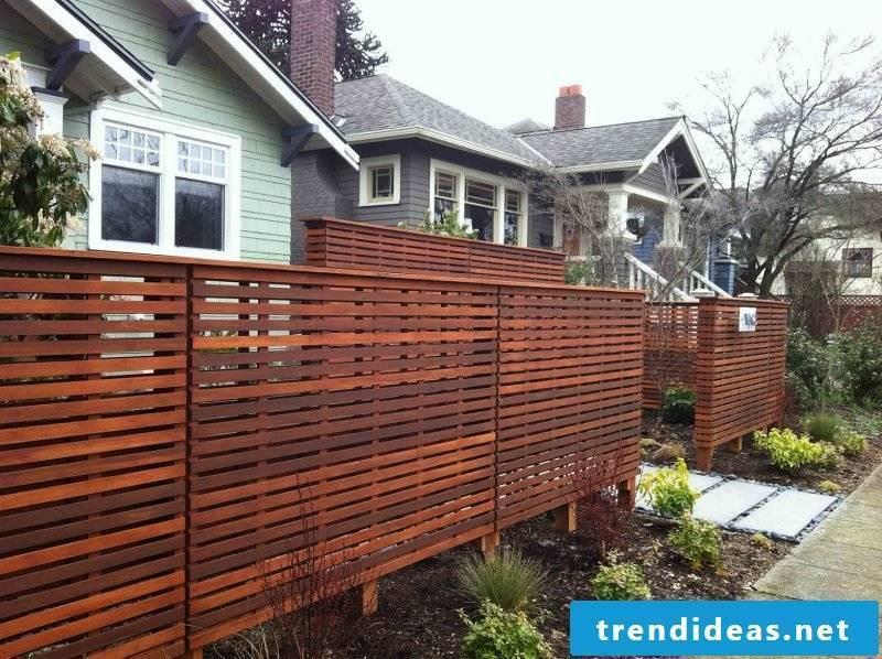 Build modern garden gate yourself