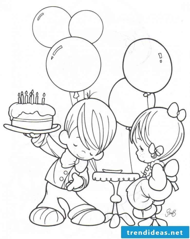 Birthday cake pictures deco