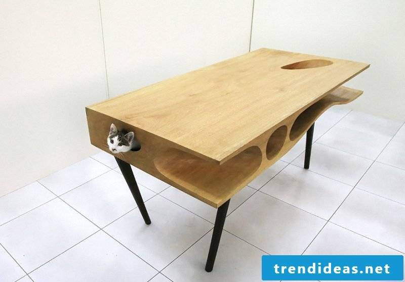 Cat furniture table