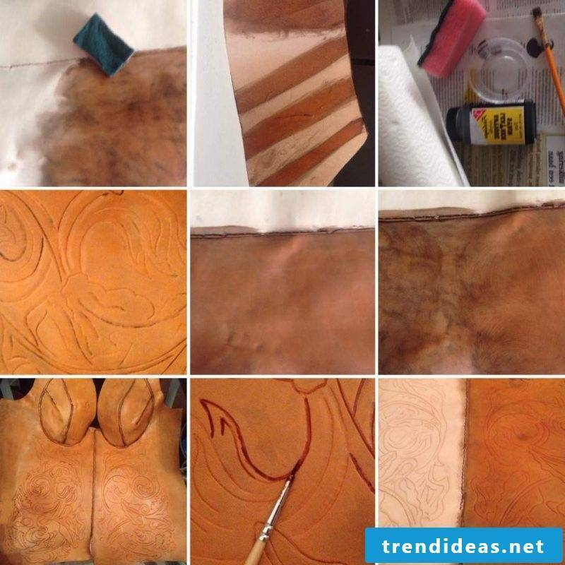 Tutorial of Leather Dyeing