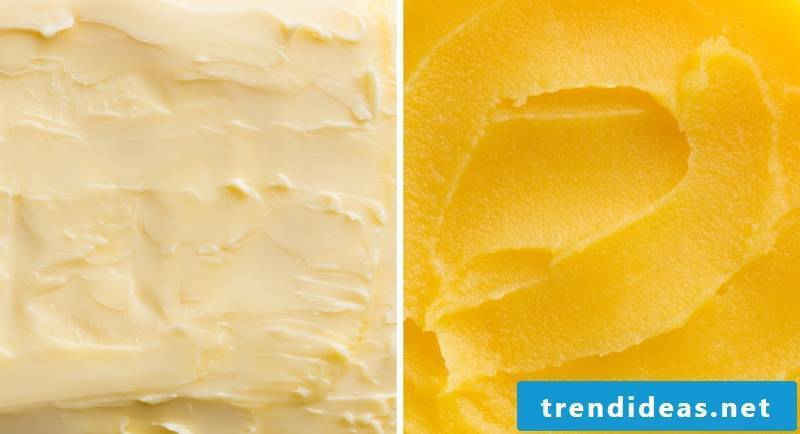 ghee itself make a difference to butter