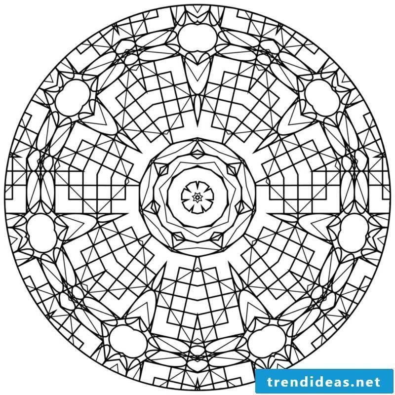 Mandala templates wellbeing