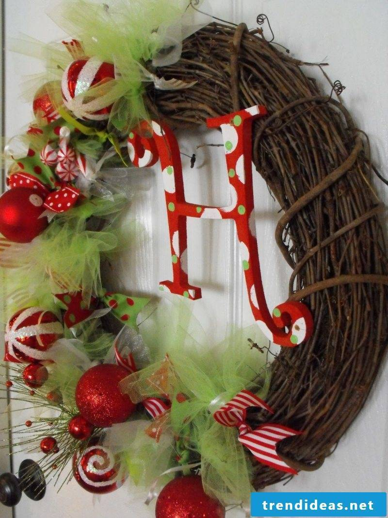 Order decoration for Advent wreath