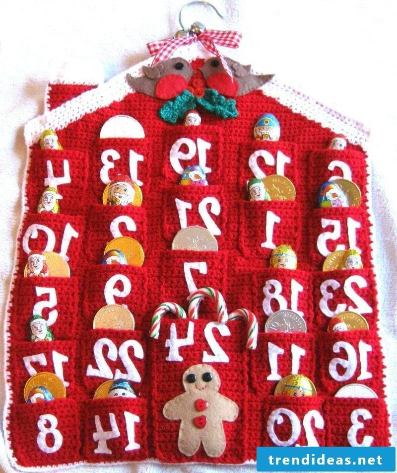 Advent calendars sew knitting