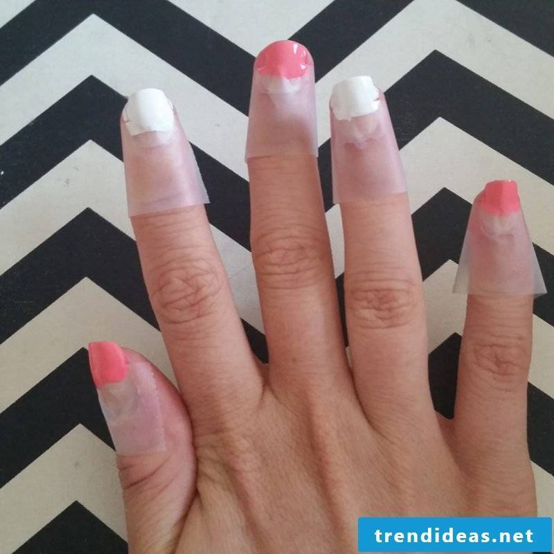 Nail Design French Tutorial Step 3