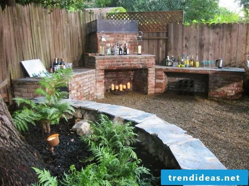Barbecue design ideas