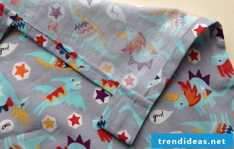Curtain sew for Kinderbet