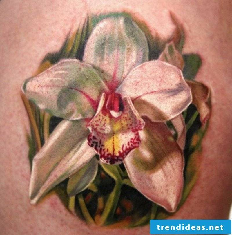 Tattoos flowers and their symbolism backs