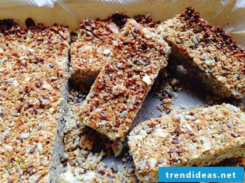 Quinoa Breakfast Mussli Bar