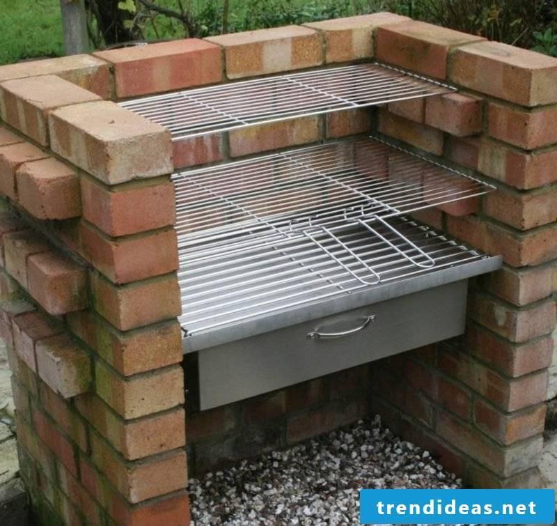Barbecue bricks