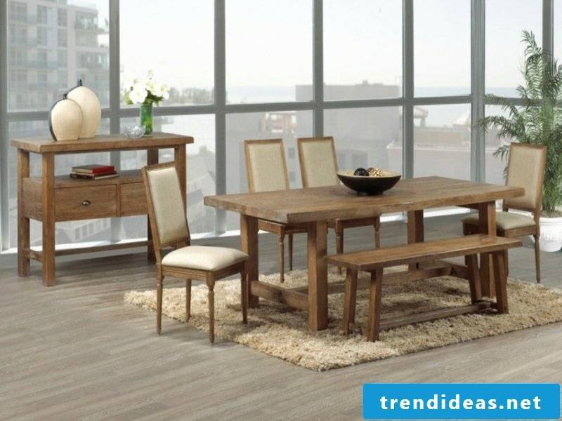 beige dream carpet in the dining room