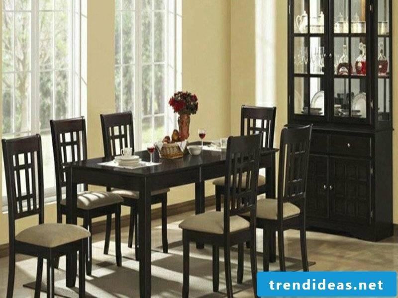 designer dark furniture on the dream carpet