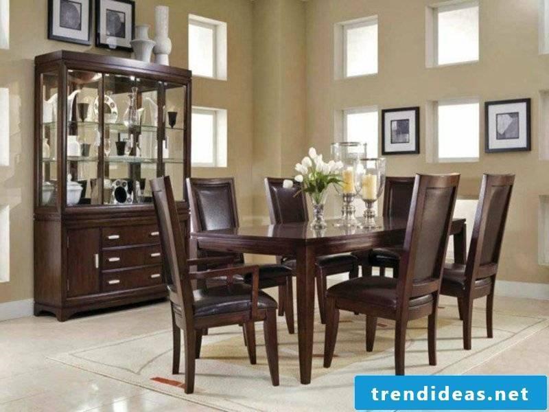 modern beige dream carpet in the dining room