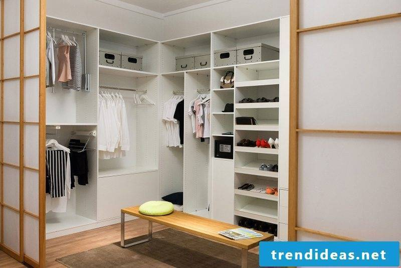 Wardrobe systems corner