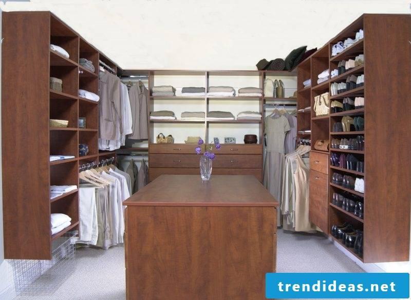 Wardrobe systems wood