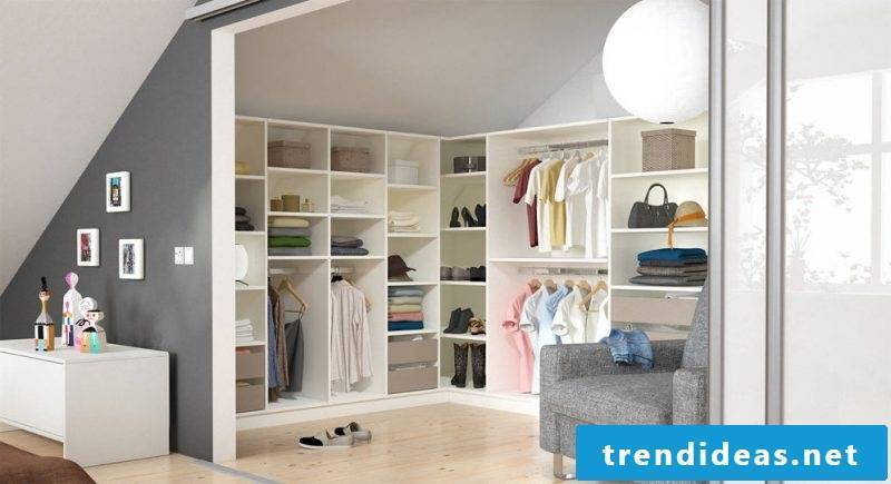 Wardrobe systems room