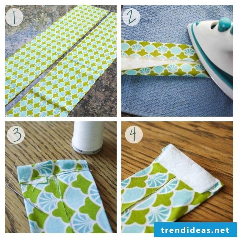 Curtain sew loops