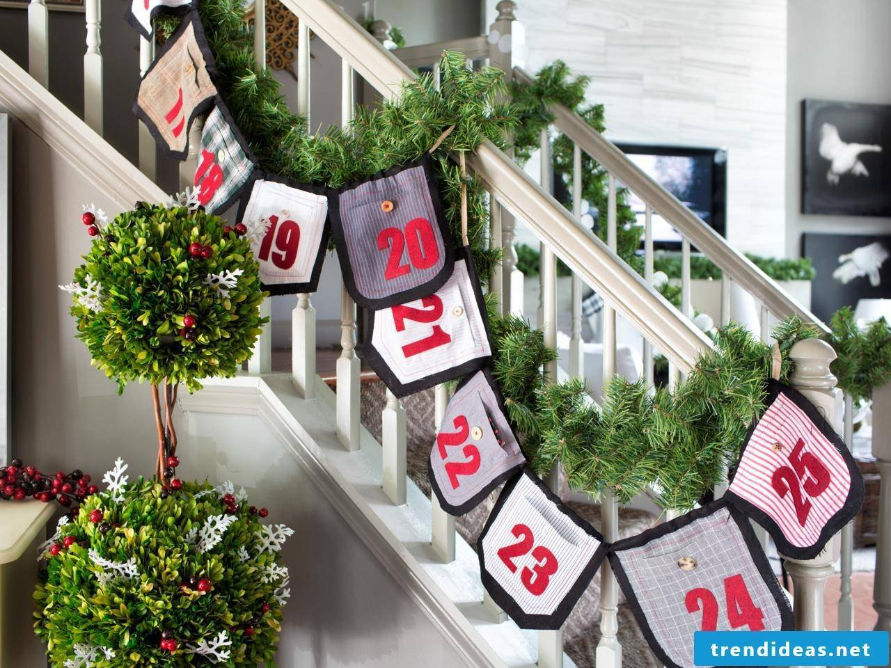 Sewing advent calendars - instructions and ideas