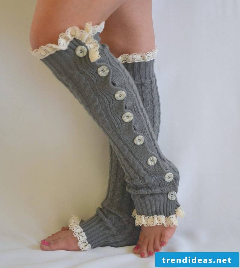 Knitting pattern for socks: Bring personal touch
