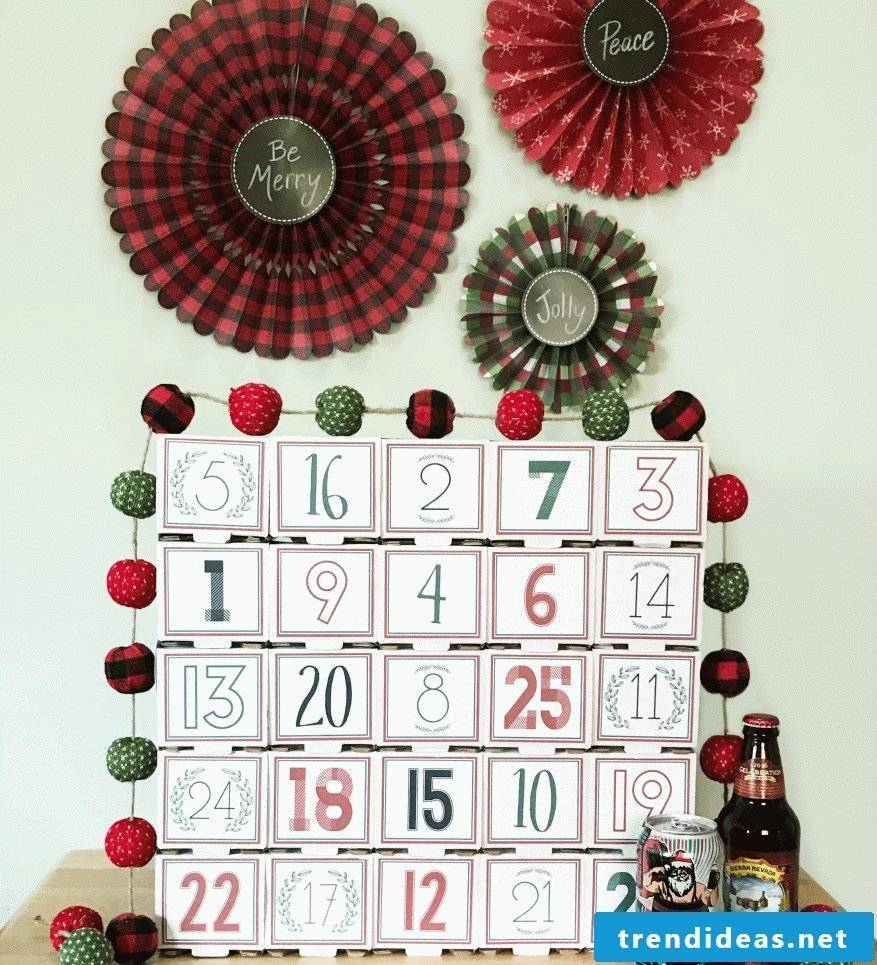 Advent calendars make for men