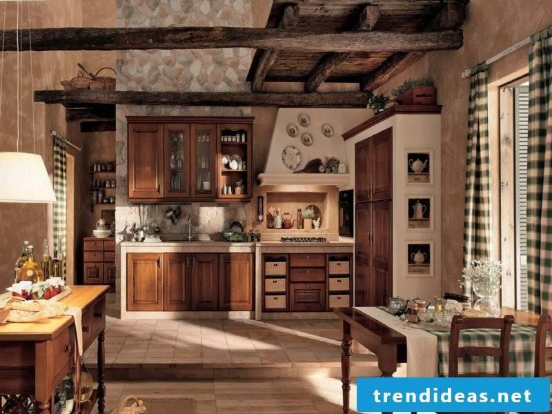 kitchen in vintage style