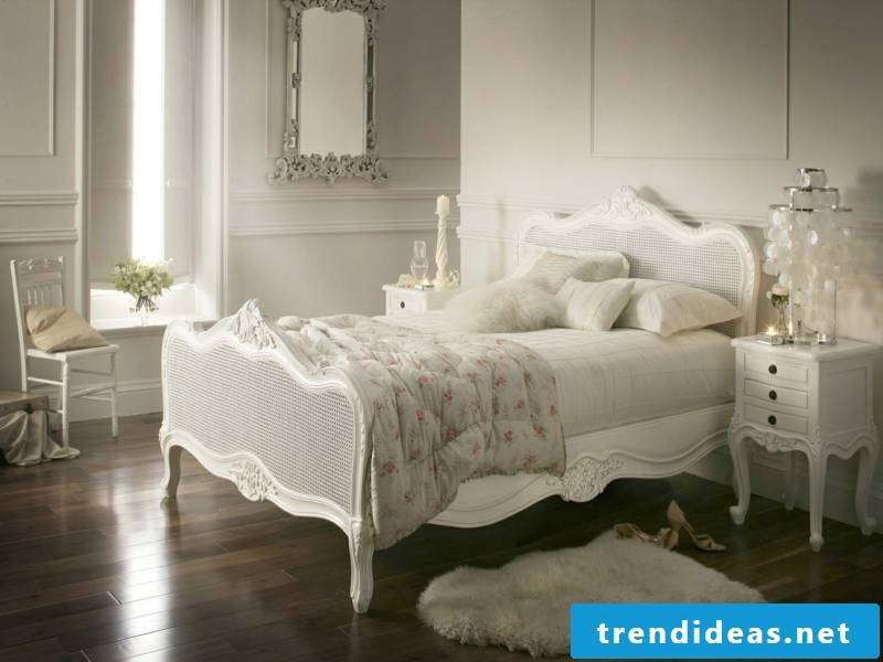 Apartment facilities in white for bedroom