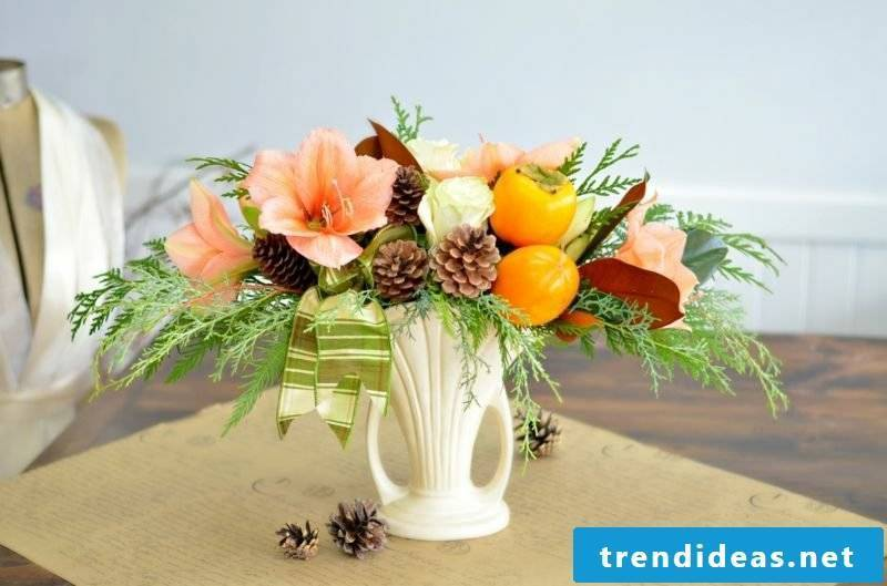Floral arrangements fall