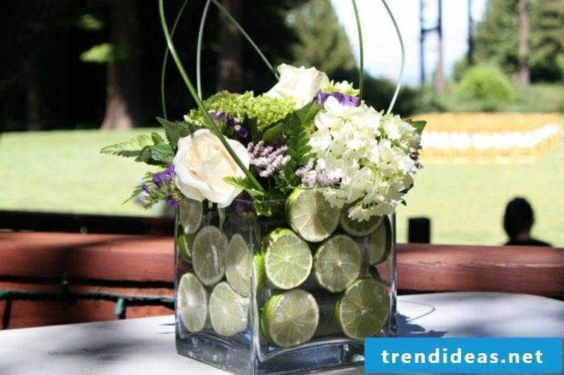 Flower arrangements DIY original ideas