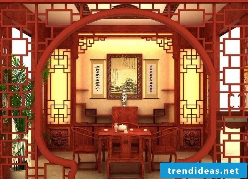 Asian furniture: Far Eastern furniture