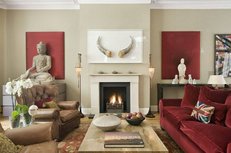 Asian furniture: Charming design