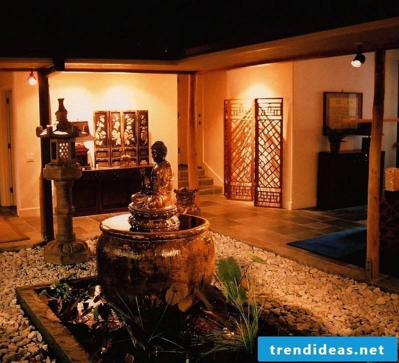 Asian furniture: Buddha