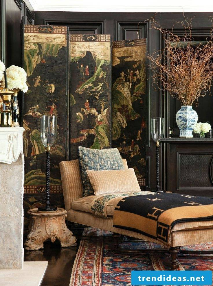 Exotic home: Asian furniture
