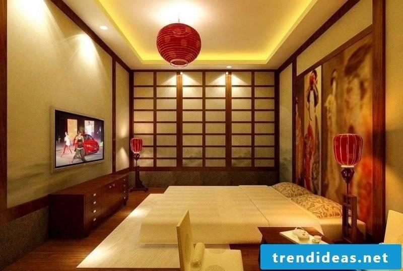 Asian furniture: Zen style